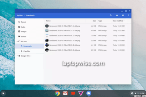 How to access screenshots on chromebook